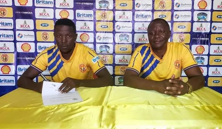 """The level of professionalism at KCCA Football Club enticed me to join the club,"" Juma Balinya"