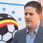Jonathan Mckinstry, Uganda Cranes Head Coach | Courtesy photo