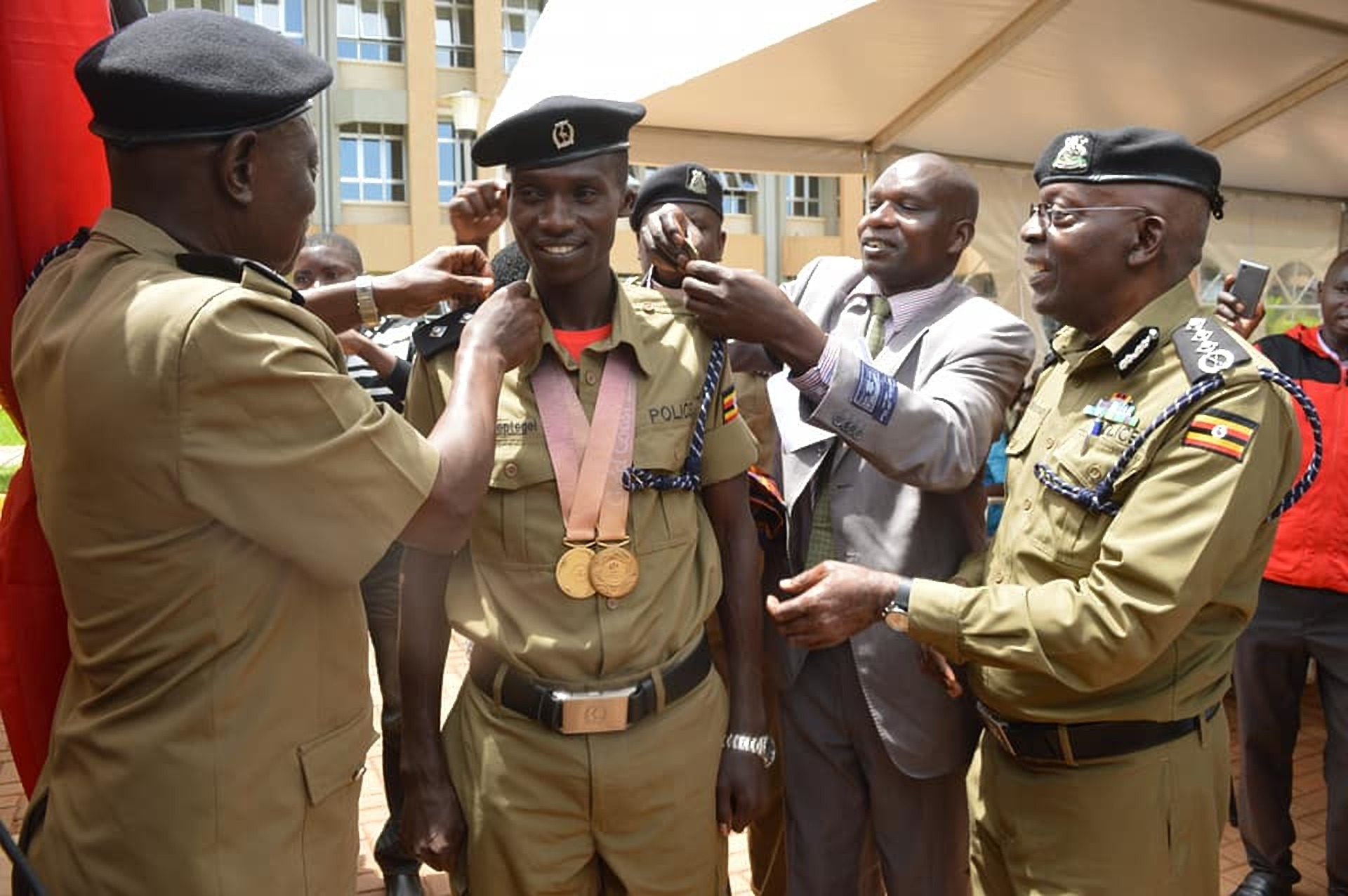 Joshua Cheptegei recommended for promotion to the rank of Assistant Superintendent of Police