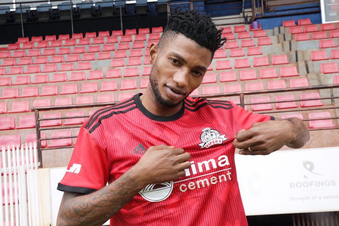 Vipers SC sign DR Congo international Manzoki Cesar Lobi