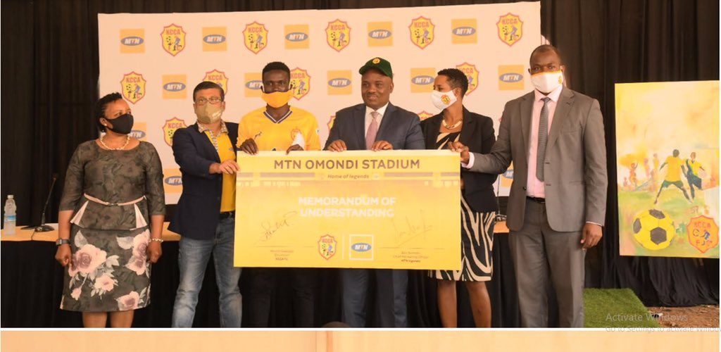 MTN Uganda Takes over naming rights of Phillip Omondi Stadium.