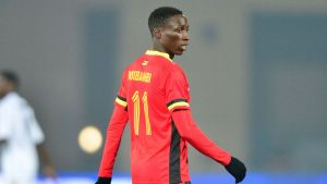 Uganda Cranes camp receives the first foreign based player