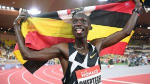 World record breaker Joshua Cheptegei on IAAF's final male Athlete of the Year contenders' list
