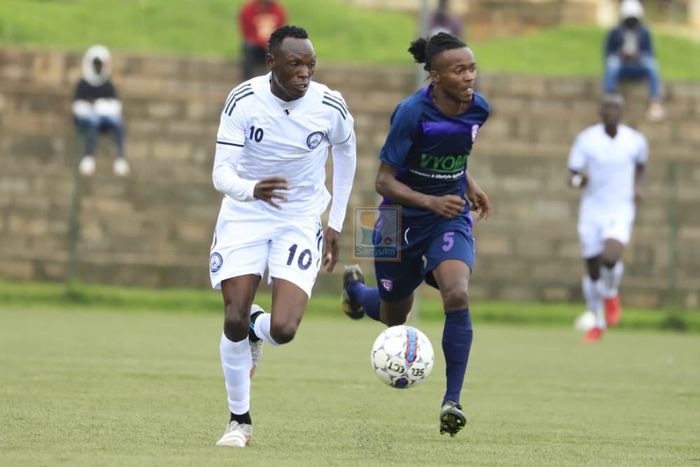 Wakiso Giants hold Police FC goalless in Lugogo