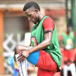 Halid Lwalilwa in Cranes training | Courtesy photo