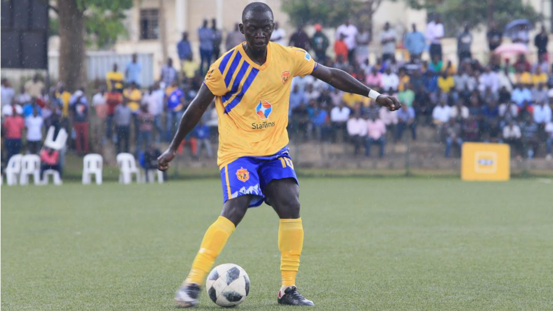 StarTimes UPL: Muzamir Mutyaba officially unveiled at Express FC on one year contract
