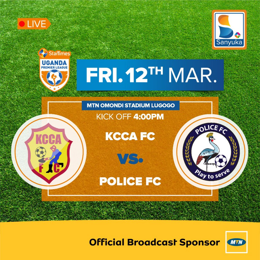 KCCA FC take on tents Police in Lugogo
