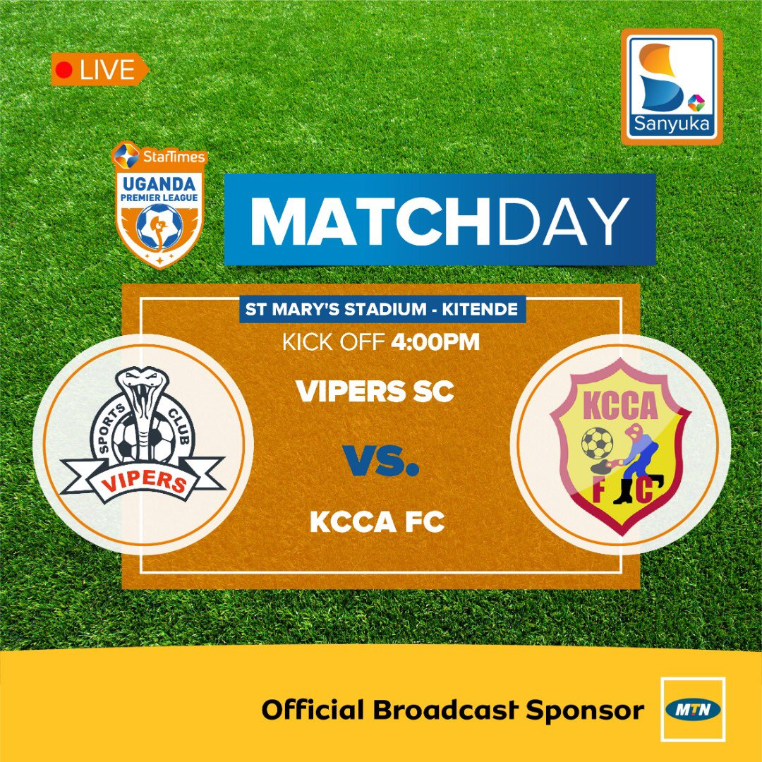 PREVIEW: Vipers SC vs KCCA FC at the St. Mary's Stadium