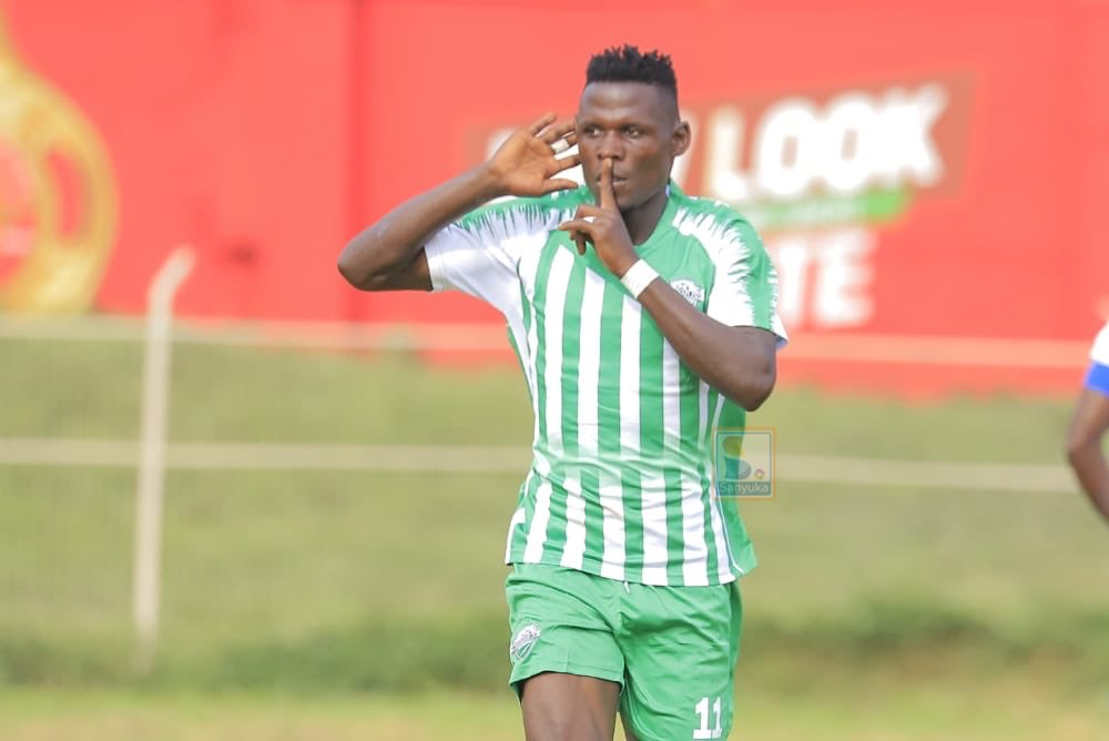 Joel Madondo the difference as Gaddafi FC edge Mbale Heroes in opening game of the StarTimes FUFA Big League