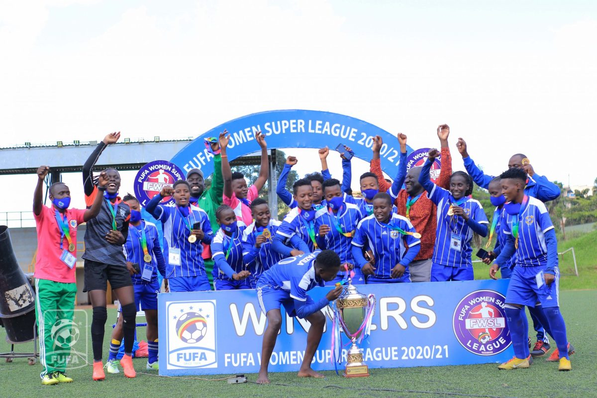 Ikwaput shines as Lady Doves to win 2020/21 Women Super League title