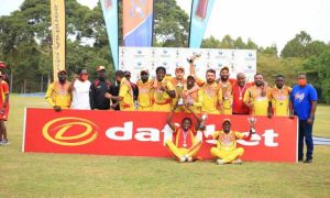 Read more about the article Cricket Cranes edge Kenya to win Pearl of Africa T20 series