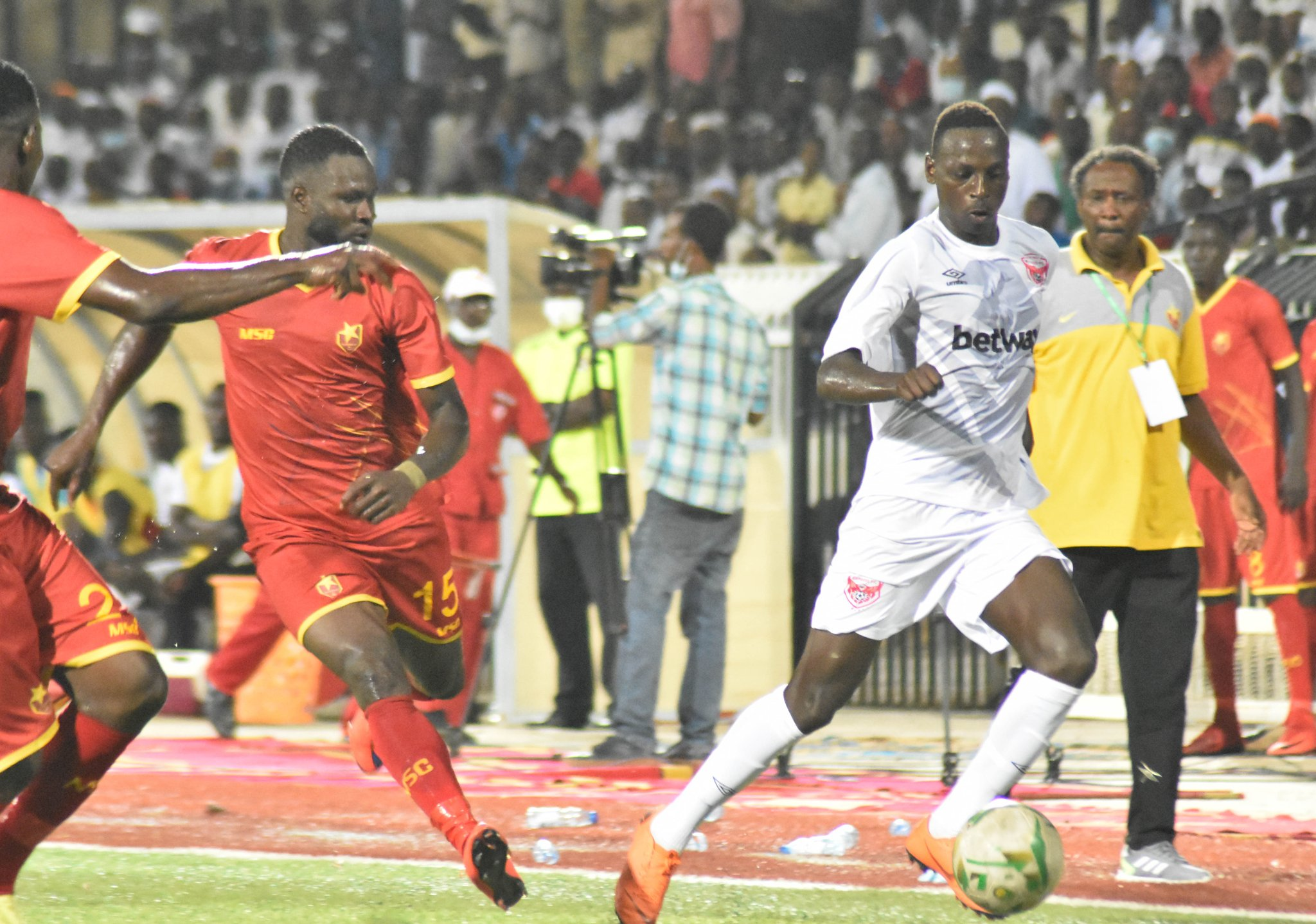 Bbosa cries foul of Merriekh under hand antics in Express' Champions League exit