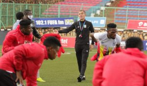 Read more about the article Micho critical of Juuko's unnecessary red card
