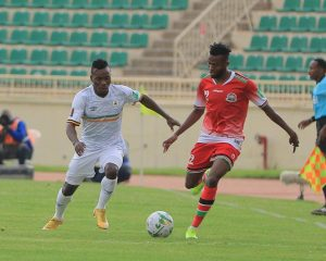 Read more about the article FIFA WCQ: Sluggish Cranes battle to hold the Harambe Stars at Nyayo